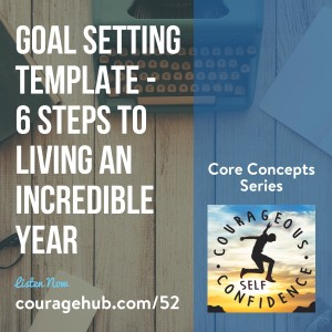 Goal Setting Template 6 Steps to Living an Incredible Year