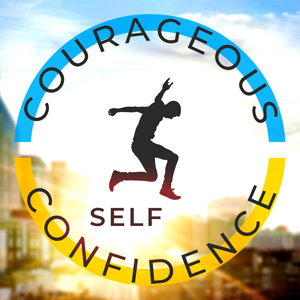 Courageous Self-Confidence Logo